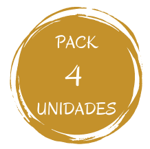 Pack 4 Unidades R