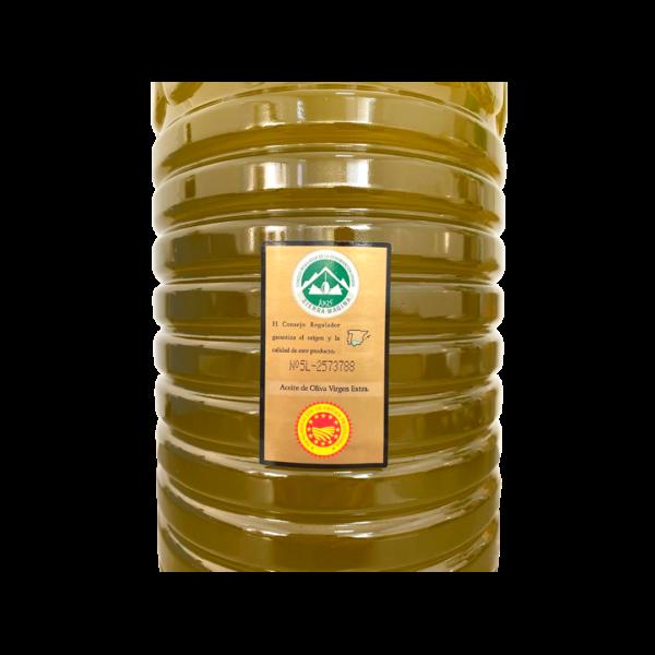 Botella 5l La Perla Contraetiqueta A